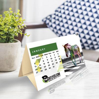 Calendarios de mesa con peana