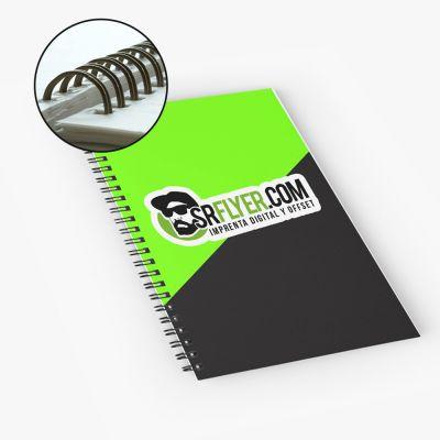 Catálogos y manuales con espiral wire-o