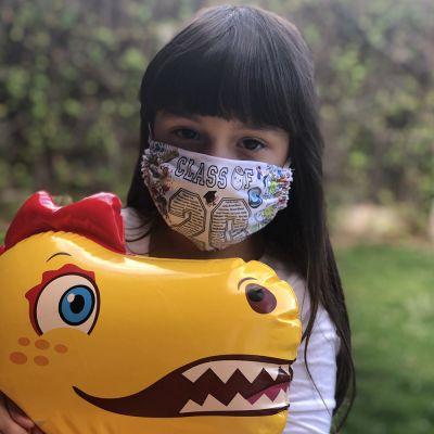 Mascarillas personalizadas para niños de tela