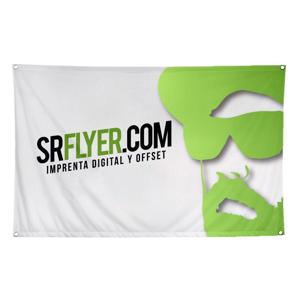 banderas tela personalizadas