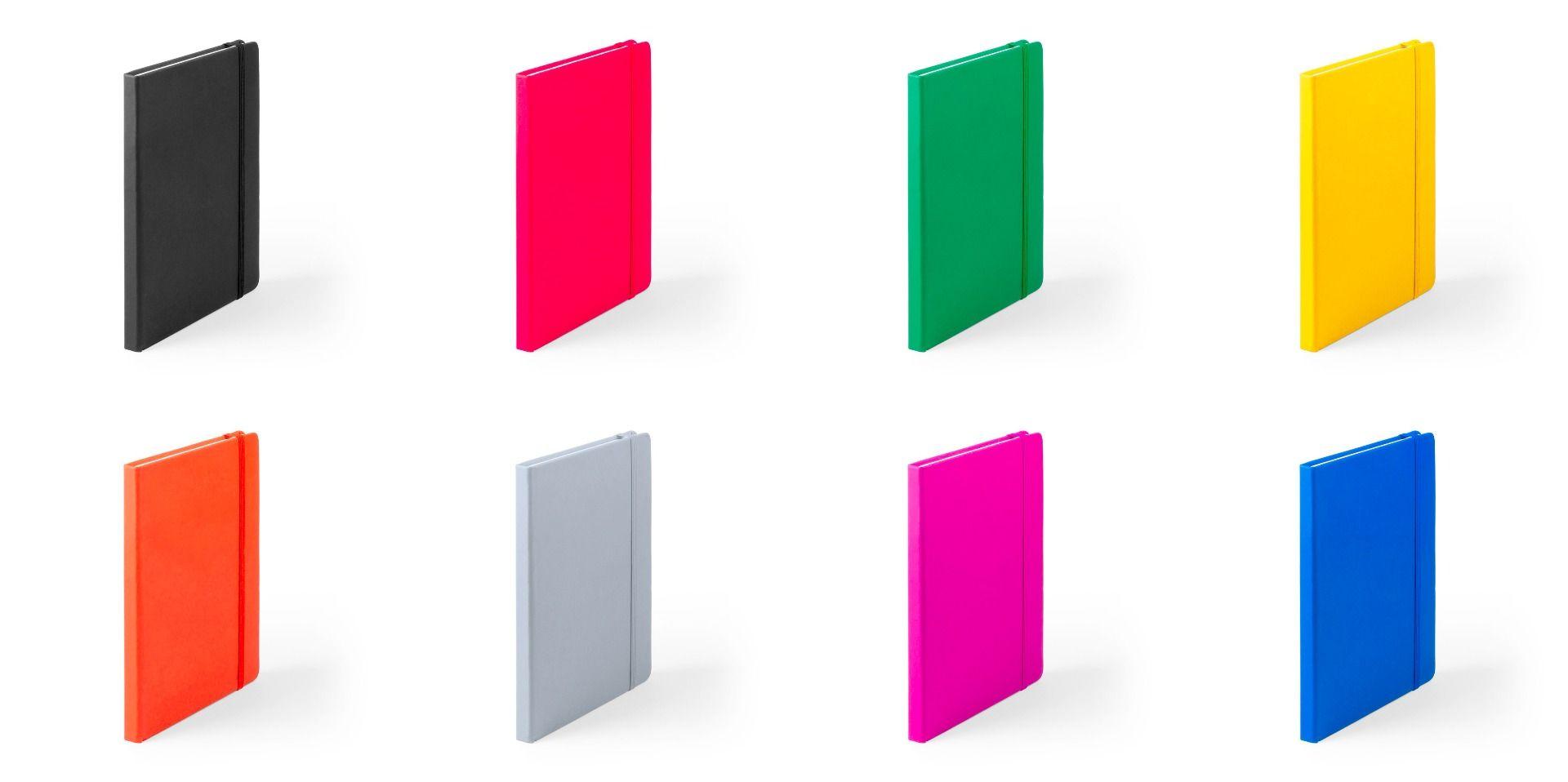 colores de libretas de notas
