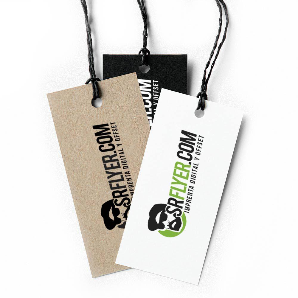 etiquetas de cartón personalizadas
