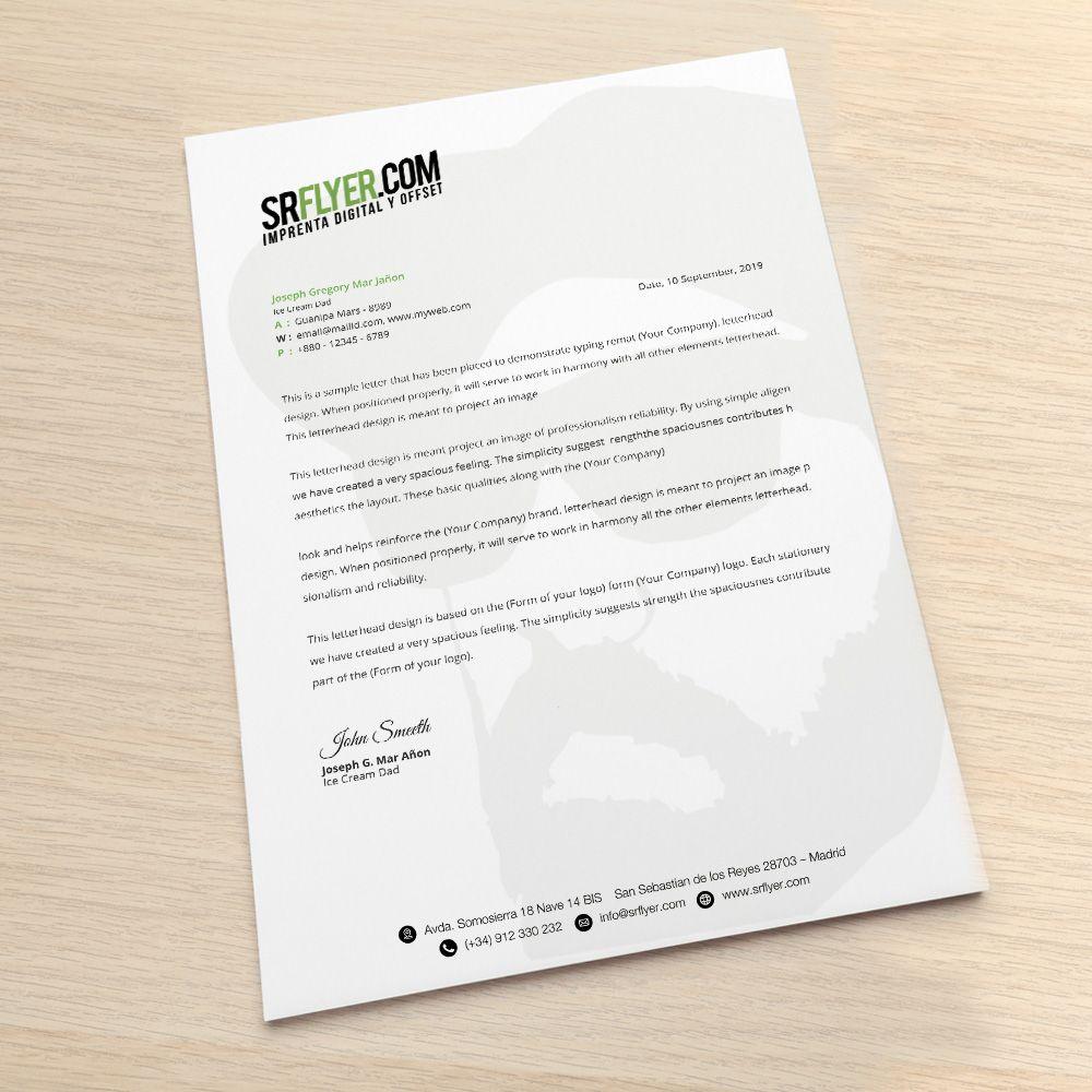 Imprimir hojas cartas