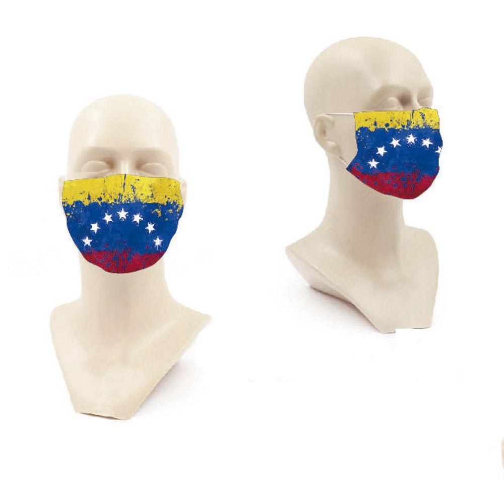 mascarilla bandera venezuela