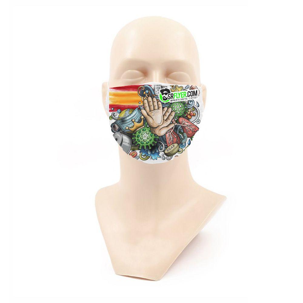 mascarillas tela personalizadas