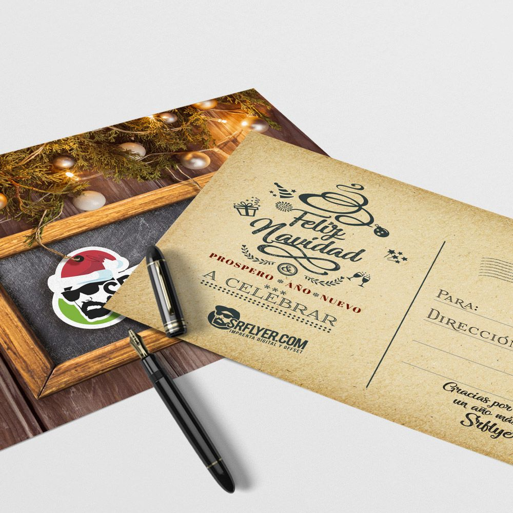 Tarjetas postales personalizadas
