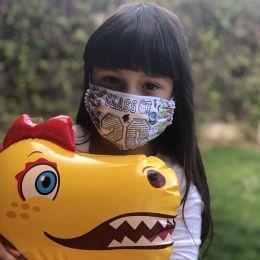 Mascarillas personalizadas niños